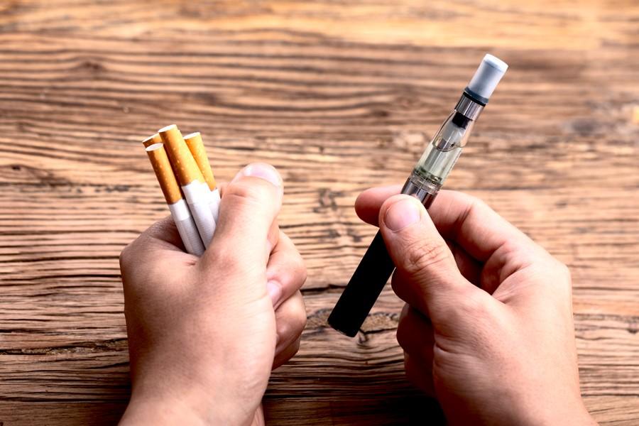 сигарета или вейп
